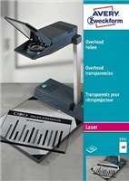 Laser + Kopier-Folie AVERY Zweckform 3552