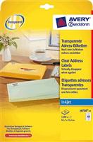 Inkjet-Etik. AVERY Zweckform J4720-25