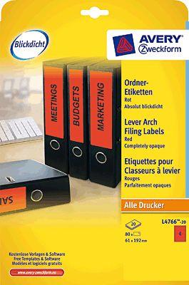 AVERY Zweckform L4766-20