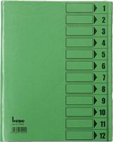 Ordnungsmappe A4 bene 84800grün