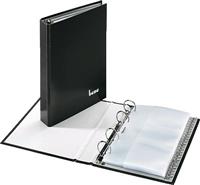 Visitenkartenringbuch bene 221425 schwarz