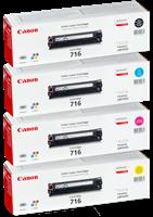 Value Pack Canon 716 Rainbow