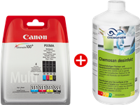 Value Pack Canon CLI-551 cmybk multi MCVP