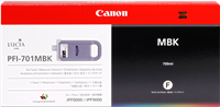 Druckerpatrone Canon PFI-701mbk