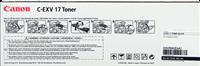 Toner Canon C-EXV17bk