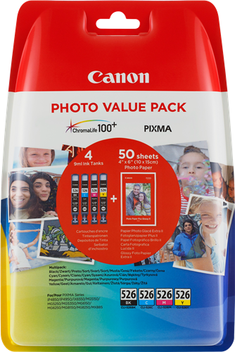 Canon CLI-526 Photo Value Pack