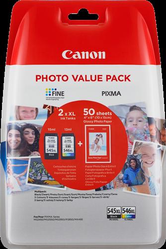 Canon PG-545XL CL-546XL Photo Value Pack