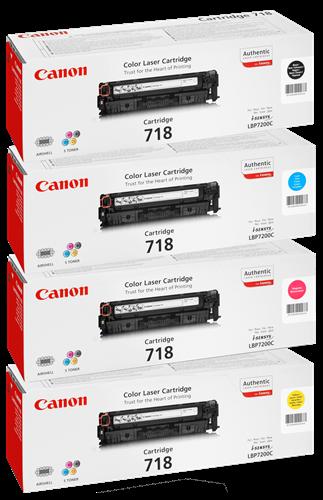 Canon 718 Rainbow