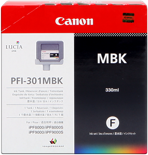 Canon PFI-301mbk