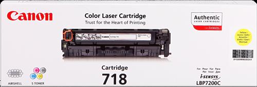 Canon LBP-7200Cdn 718 Y