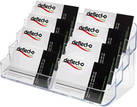 Visitenkartenhalter deflecto DE70801