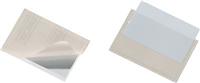 Selbstklebe-Tasche , transparent, Öffung oben, DURABLE 8093-19