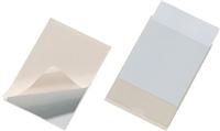 Selbstklebe-Tasche , transparent, Öffung oben, DURABLE 8077-19