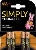 Batterien Simply DURACELL DUR002432