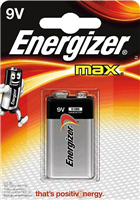 Batterien MAX® Alkaline Energizer E300115900