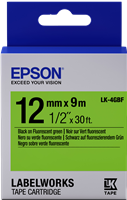 Schriftband Epson LK-4GBF