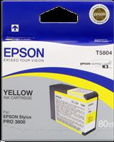 ink cartridge Epson T5804