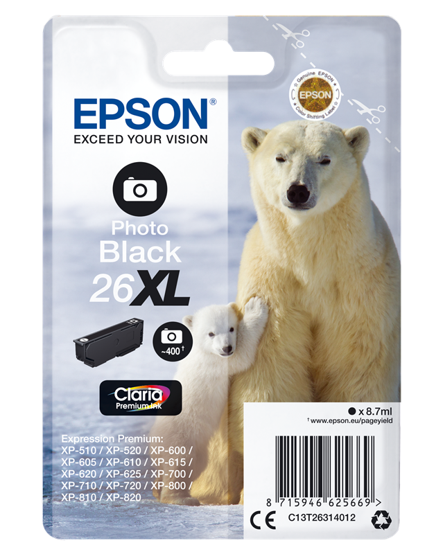 Druckerpatrone Epson T2631