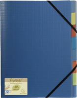 Ordnungsmappe 8-teilig forever Recycled PP Exacompta 552572E