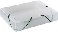 Dokumentenbox Kristall Exacompta 5982E