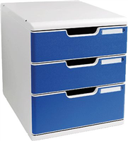 Büroboxen Modulo System 2 A4 Exacompta 325003D