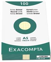 Karteikarten, liniert Exacompta 13828B