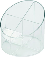 Stifteköcher economy transparent helit H6390202