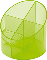 Stifteköcher economy transparent helit H6390250