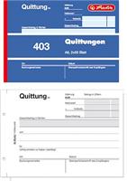 Quittungsblock A6 2x50Blatt Herlitz 00886614