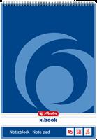 herlitz Spiralblöcke, A5, 50 Blatt