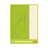 Millimeterblock A4, 25 Blatt Herlitz 690404