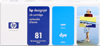 Druckerpatrone HP 81