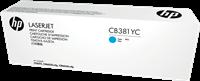HP CB381YC+
