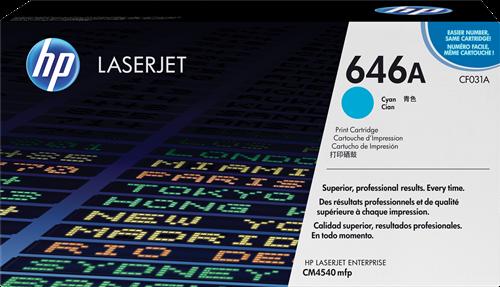 HP ColorLaserJet CM4540 MFP CF031A