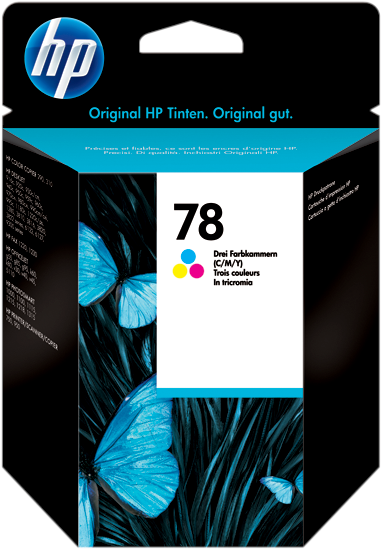 Original-HP-Tintenpatrone-color-C6578D-78d