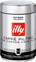 Kaffee gemahlen illy Intenso