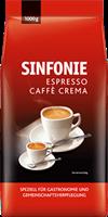 Kaffee Ganze Bohne Jacobs Sinfonie Espresso Cafe Crema