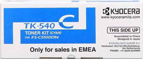 Kyocera FS-C5100DN TK-540c