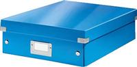 Organisationsbox Click & Store mittel, bl Leitz 6058-00-36