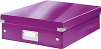 Organisationsbox Click & Store mittel, viol Leitz 6058-00-62