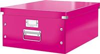 Aufbewahrungs-Transportbox DINA3 pink Leitz 6045-00-23