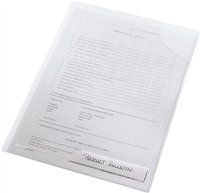 Sicht- und Prospekthüllen , transparent, PP, A4, Leitz 4726-00-03