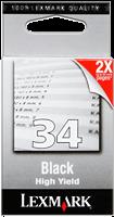 ink cartridge Lexmark 34 XL