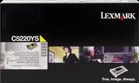 toner Lexmark C5220YS