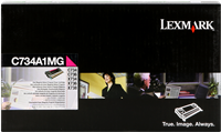 Toner Lexmark C734A1MG