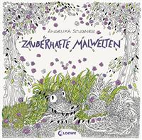 Malbuch Zauberhafte Malwelten Loewe 8457-6