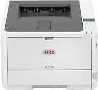 Imprimante Laser Noir et Blanc OKI B412dn