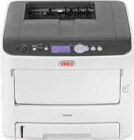 Stampante laser a colori OKI C612n