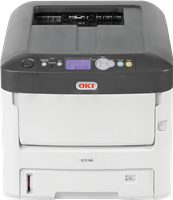 Color laser printer OKI C712dn