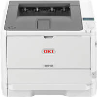 Zwart-wit laserprinter OKI B521dn
